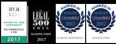 Giovannelli e Associati - Riconoscimenti 2017